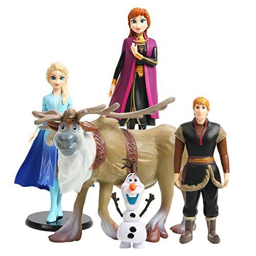 Dekor Frozen - Juego de 5 figuras de...
