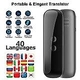 Inteligente Traductor Instantáneo, Portátil Voz Dispositivo Traducción Dos Vías Real Traductor Inalá...