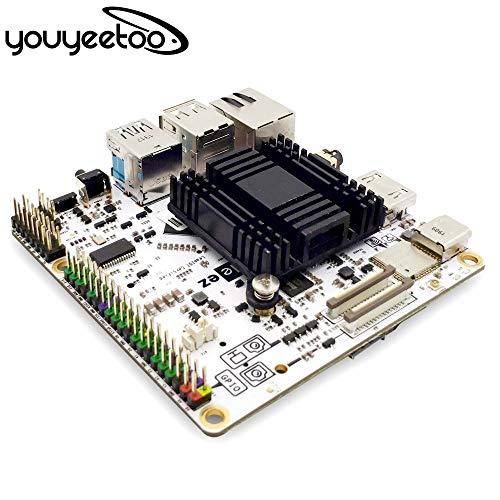 youyeetoo Lenovo Leez P710 Procesador de 64 bits de seis núcleos SBC soporta pantalla de tres pantallas y sistema multioperativo IoT computadora de una sola placa