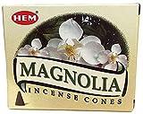 Hem Magnolia - Conos de incienso (12 unidades)