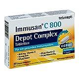 tetesept: Immusan C 800 Depot Complex Tabletten, 20 St. Tabletten