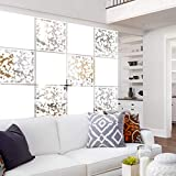 Lchen Hanging Room Divider Panel, 12 Pieces White Screen...