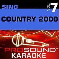 Sing Country 2000 Vol. 7 [KARAOKE]