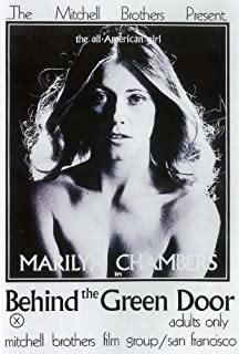 Behind the Green Door Poster B 27x40 Marilyn Chambers George S. MacDonald Johnny Keyes