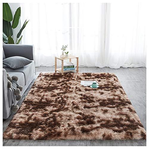 Alfombras grande caliente Deco Soft Touch lanudo de color topo de la estera del piso del cojín antideslizante Alfombras grueso de lujo Pila suave densa alfombra de suelo disponible en 5 tamaños 007