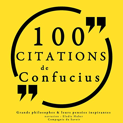 Couverture de 100 citations de Confucius