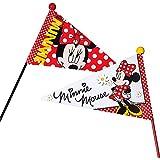 Fahrrad Flagge WIDEK DISNEY Minnie Mouse Sicherheitswimpel Fahrradwimpel Wimpel