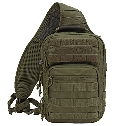 Brandit Messenger Bag US Cooper Every Day Carry Sling, Farbe:Olive
