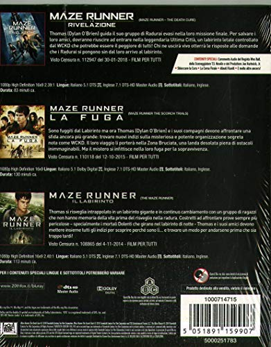 Maze Runner (Box 3 Br) Collection