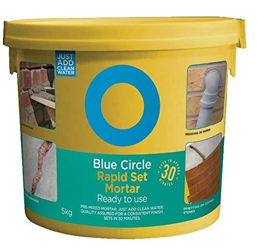 Blue Circle TMOBA05KRH - Mortero de reparación rápida, color gris claro