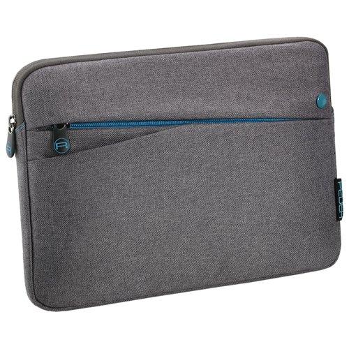 Pedea Tablet PC Tasche Fashion für 12,9 Zoll (32,8 cm) Schutzhülle Etui Case mit Zubehörfach, grau