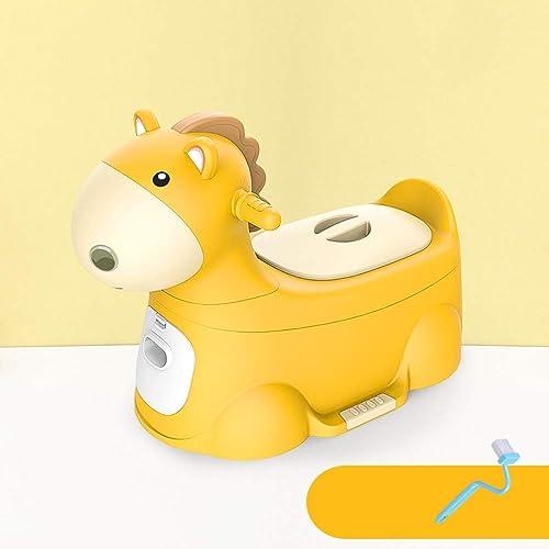 muy popular MEILA Asiento de Inodoro para Niños Baby Baby Baby Trainer para Niños pequeños Asiento de Inodoro Orinal para Inodoro Asiento de Inodoro con Projoector contra Salpicaduras y Asas Asiento de Inodoro para Niños  solo para ti