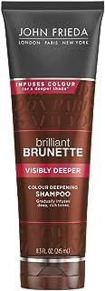 John Frieda Brilliant Brunette Visibly Deeper Colour Deepening Shampoo, 8.3 Ounce