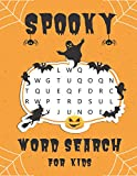 Spooky Word Search for Kids: Halloween Word Search Holiday Fun for Children