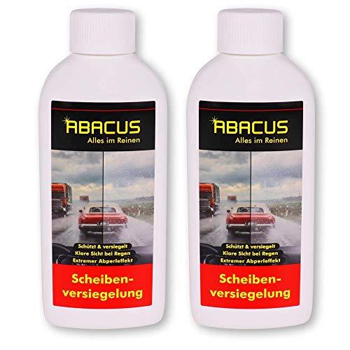 ABACUS 2X 250 ml Scheibenversiegelung mit Abperleffekt - Fleet Magic (7101)