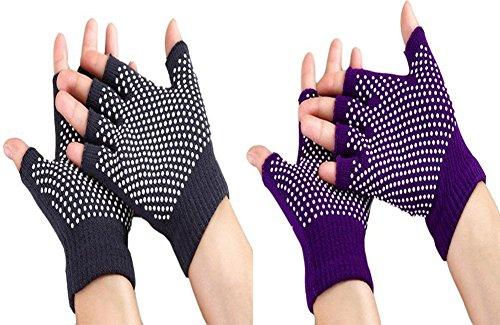 October Elf Breathable Non Slip Fingerless Design Wrist Support Cotton...