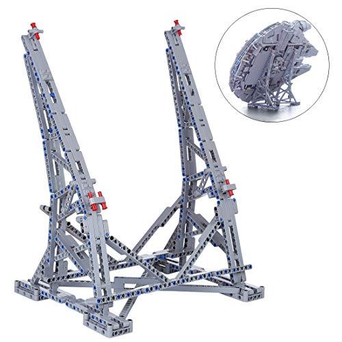 POXL Ständer Für Millennium Falcon Modell, Vertikaler Display Stand Für Lego 75192 - NUR Ausstellungsstand
