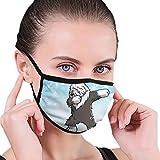 CZLXD - Máscara Antipolvo para Perro Pastor inglés, Antipolvo, máscara anticontaminación para Hombre y Mujer