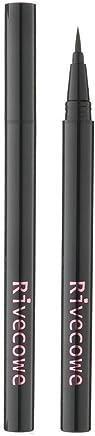 Rivecowe Flexible Liquid Brushpen Eyeliner Black 0.02oz