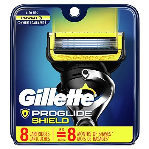 ProGlide Shield Men's Razor Blades, 8 Blade Refills