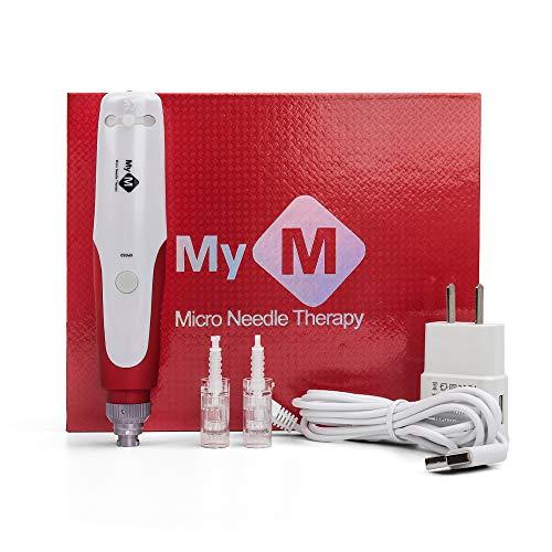 Profesional Bayoneta Microblading Dermapen Eléctrico Micro Rolling Needle Kit para el Cuidado...