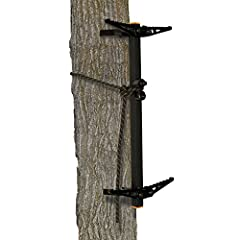 Aluminum construction Features rope Cam System Works on Straight and crooked trees Weighs 10 lbs
