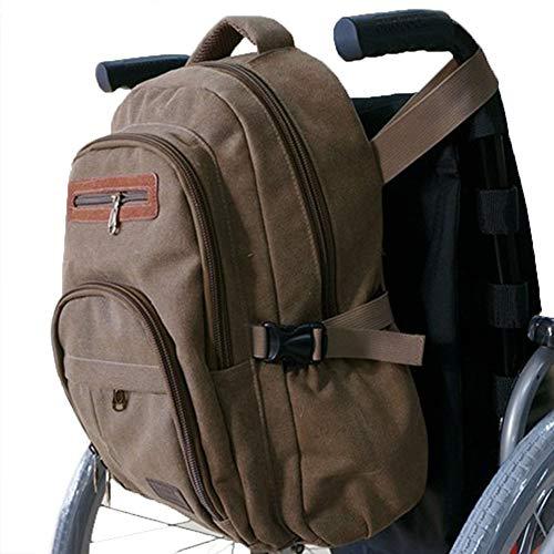 RANRANHOME Rollstuhltasche Rollstuhl-Leinen-Tasche Side Pouch Korb Aufbewahrungs-Organisator