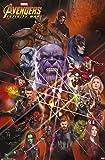 Trends International Marvel Cinematic Avengers-Infinity War-Universe Wall Poster, 22.375' x 34', Premium Unframed Version