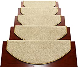 Rug Stairs Carpet Adhesive Self-Adhesive Non-Slip Solid Wood Plain Step Pad Durable Carpet Fashion Interior Multiple Sizes...