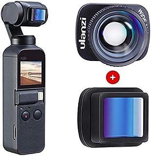 Fenmic DJI OSMO POCKET 対応 1.33Xアナモルフィックレンズ+アップグレードされた広角レンズキット、4K HDビデオ品質、DJI OSMO Pocket用の映画製作用映画レンズ