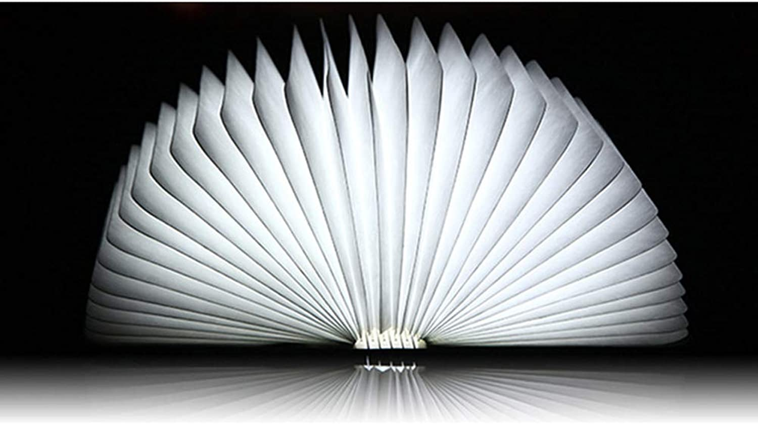 PageLED, LED, Folding, Wooden, Book, Light, Flip, PageLED, Book, Light, Can, Folded, Night Light