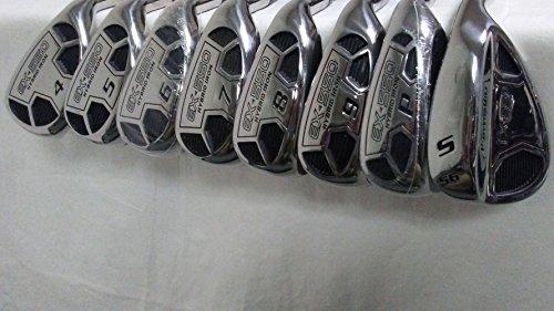 Powerbilt Golf EX-550 Hybrid Iron Set 4-SW Men's RH Graphite