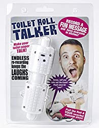 This toilet and poo themed gifts will let them know when they are almost out!