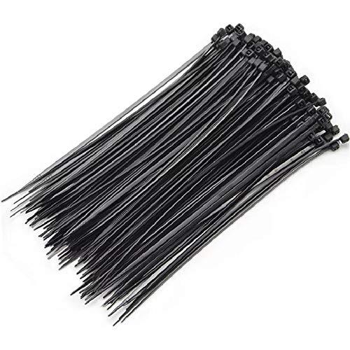 100 piezas 3x150 3x80 3x100 Autobloqueo de plástico de nylon Cable de...