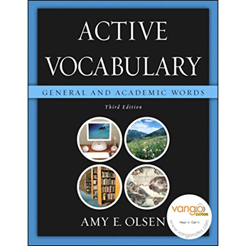 VangoNotes for Active Vocabulary audiobook cover art