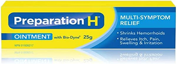 Preparation H Ointment with Bio-Dyne Multi-Symptom Pain Relief 25g