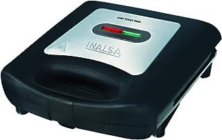 Inalsa Easy Toast INOX 750-Watt 2 Slice Sandwich Maker (Black/Silver)