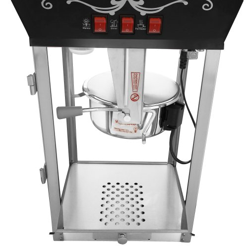 Product Image 8: 6092 Great Northern Popcorn Black Antique Style Popcorn Popper Machine, 8 Ounce