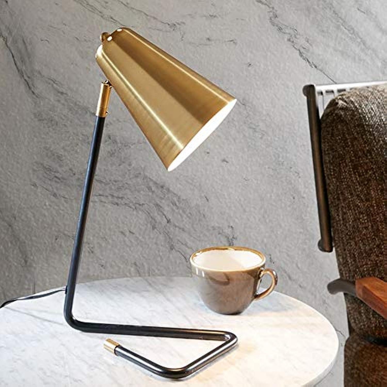 KUVV Perfecto Moderne Minimalistische Dreieck Tischlampe Nordic Wohnzimmer Schlafzimmer Nachttischlampe Studie Kreative Amerikanische Dekoration Kinderzimmer Schreibtischlampe Gold