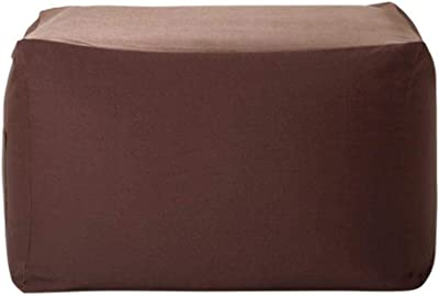EXTROITALY Cubo Puf Polipiel Rojo Med. 45 x 45 x 45 cm, Altura 45 ...
