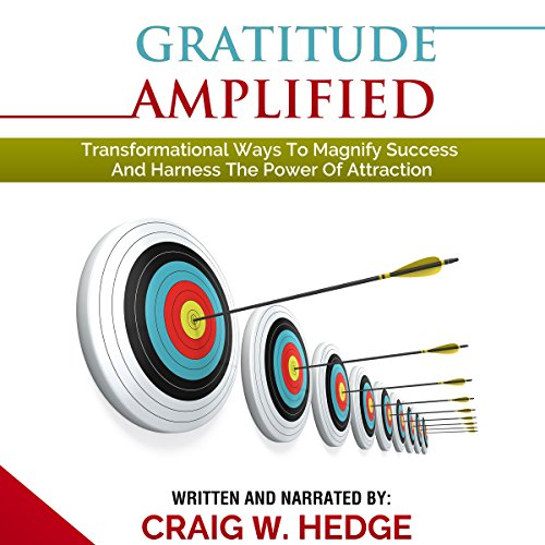 Gratitude Amplified audiobook cover art