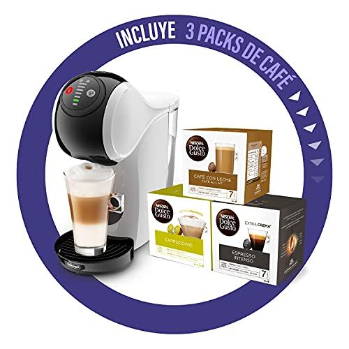De'Longhi Dolce Gusto Genio S Máquina de Café en Cápsulas, Incluye 3 Paquetes de Cápsulas, Diseño Compacto, Tamaño de...