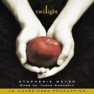 Twilight     The Twilight Saga, Book 1              Written by:                                                                                                                                 Stephenie Meyer                               Narrated by:                                                                                                                                 Ilyana Kadushin                      Length: 12 hrs and 51 mins     50 ratings     Overall 4.6