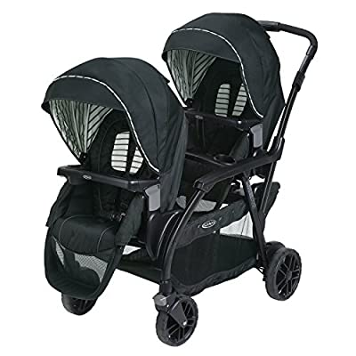 Graco Modes Duo Double Stroller | 27 Riding Options for 2 Kids, Holt