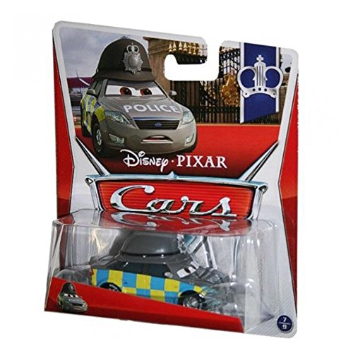 Disney Pixar Cars Mark Wheelsen Ford Mondeo (Palace Chaos, #7 of #9) - Voiture Miniature Echelle 1:55