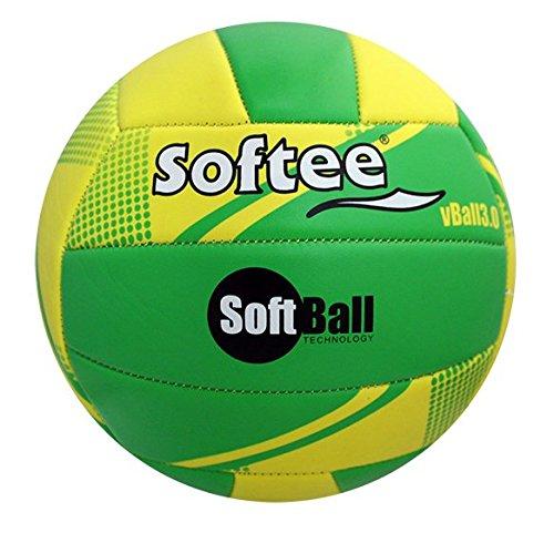 Softee Equipment 0001740 Balón Softball, Blanco, S