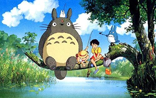 YUBYUB Rompecabezas para Adultos De Madera 1000 Piezas Muy Desafiante Rompecabezas Imágenes de Gatos anime/75 * 50 CM