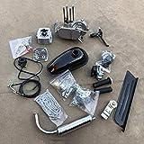 DONSP1986 2 Stroke Gas Bicycle Engine kit PK80 Unassembled Gas Motor Kit-Gas Motorized Bicycle 66cc/80cc