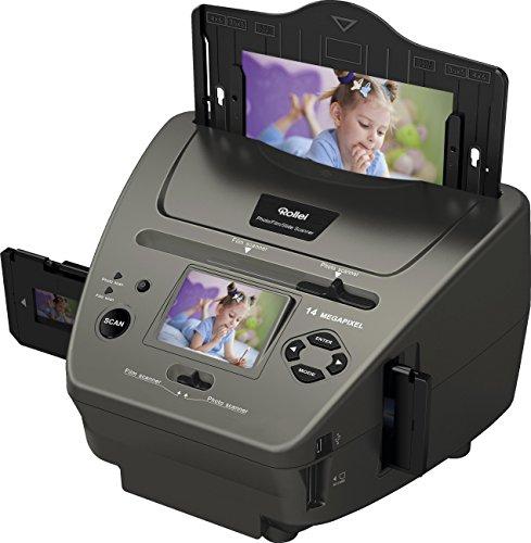 Rollei PDF-S 340 - Multi escáner de 14 MP para diapositivas, negativos y fotos