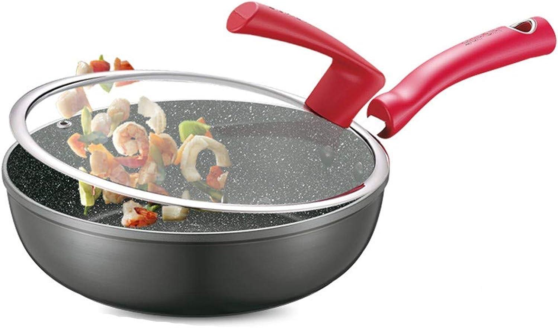 al precio mas bajo Pan, piedra Maifan, Maifan, Maifan, sartén antiadherente, wok, cocina de inducción universal, sartén de 24 CM, apto para 2-3 personas  mejor moda